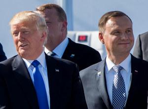 """Ile potrwa spotkanie """"w cztery oczy"""" Dudy z Trumpem?"""