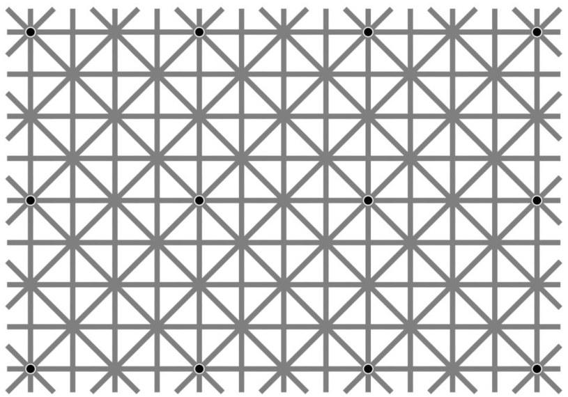 Ile widzisz kropek? /Akiyoshi Kitaoka /facebook.com
