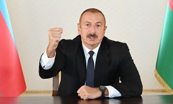 Ilham Alijew /AZERBAIJAN DEFENSE MINISTRY HANDOUT /PAP/EPA