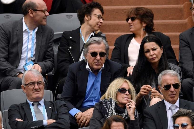 Ilie Nastase (w środku) /AFP