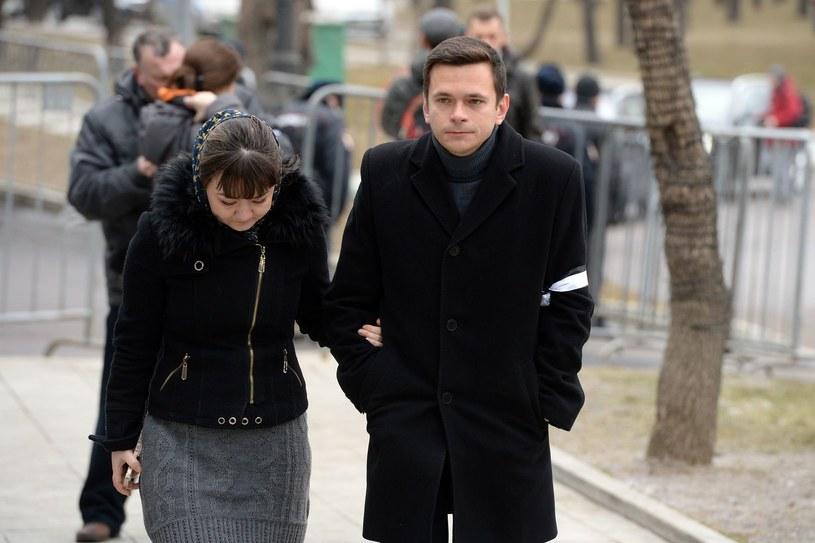 Ilja Jaszyn po pogrzebie Borysa Niemcowa /AFP