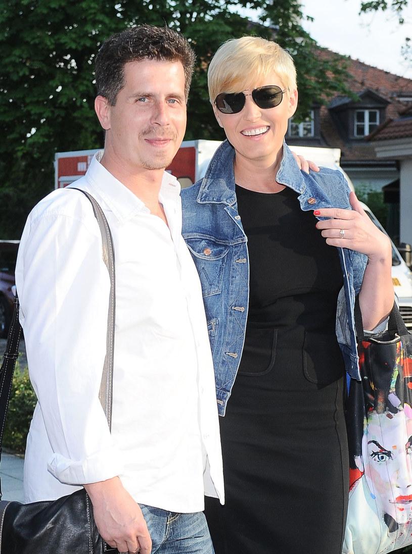 Ilona Felicjańska i jej partner, Yossarin Malewski /Andras Szilagyi /MWMedia