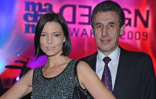 Ilona Felicjańska z mężem, fot. Andras Szilagyi  /MWMedia