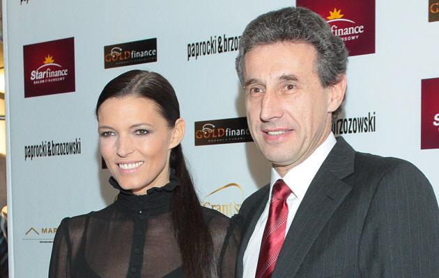 Ilona Felicjańska z mężem, fot. Paweł Przybyszewski  /MWMedia