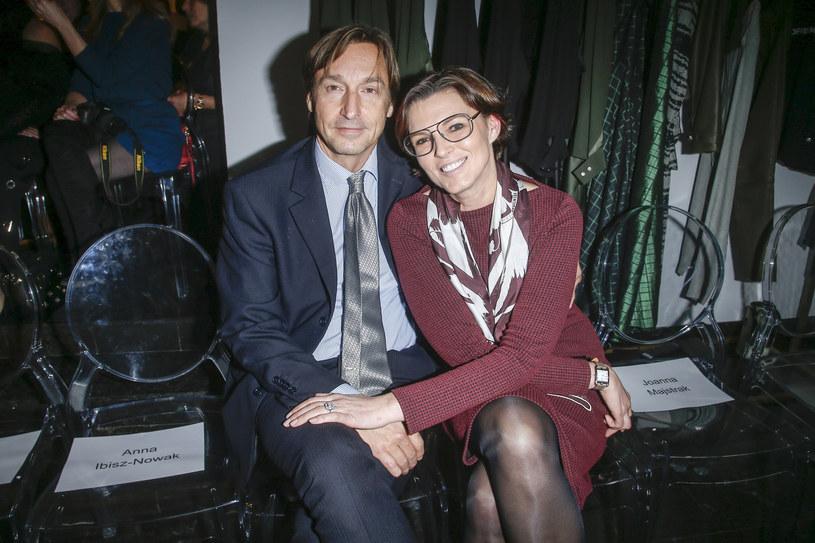 Ilona Felicjańska z mężem /Michał Baranowski /AKPA