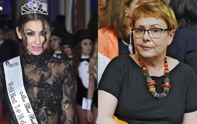 Ilona Łepkowska i Angelika Fajcht /- /AKPA
