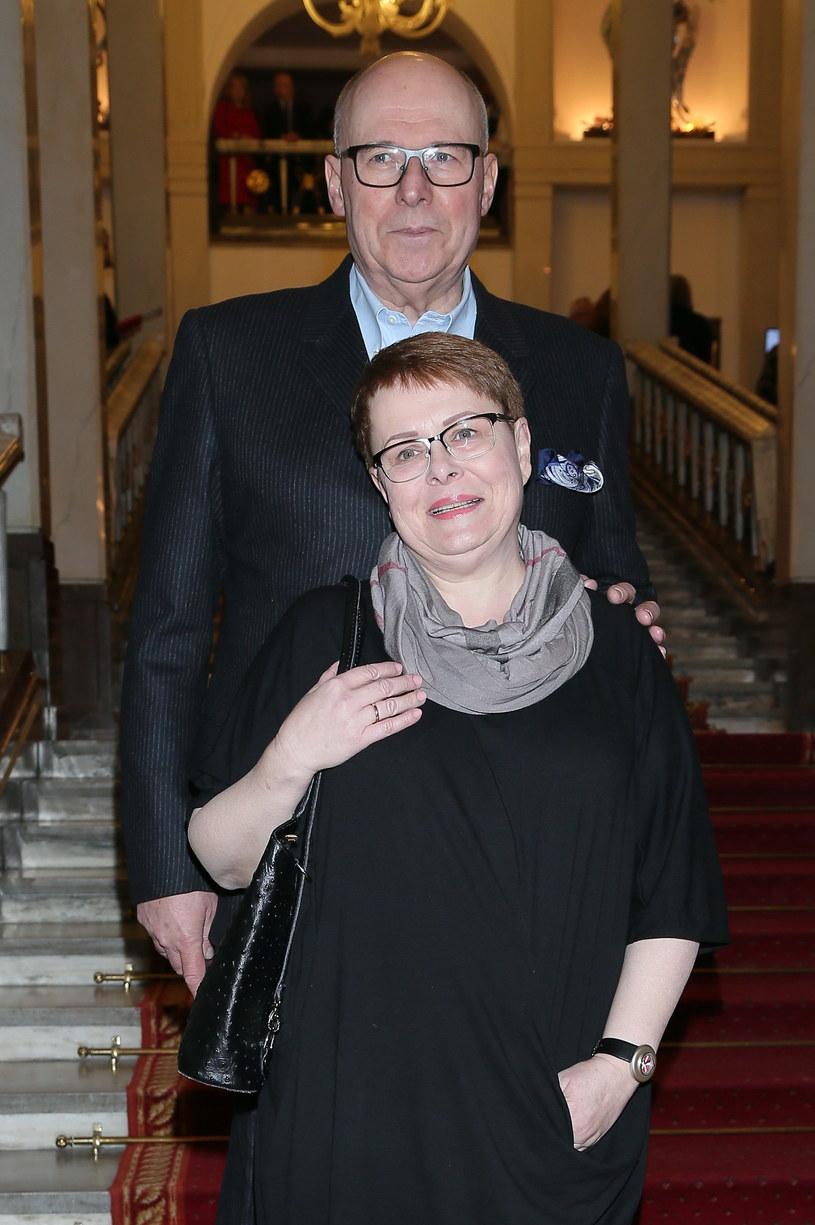 Ilona Łepkowska i Czesław Bielecki /Paweł Wrzecion /MWMedia
