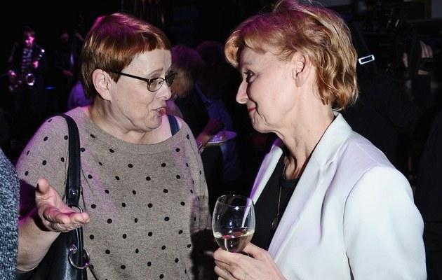 Ilona Łepkowska i Ewa Wencel /- /MWMedia