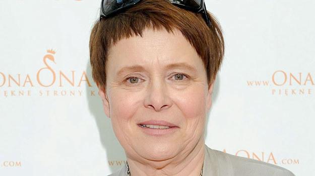 Ilona Łepkowska rzuciła pracę przy serialach /Agencja W. Impact