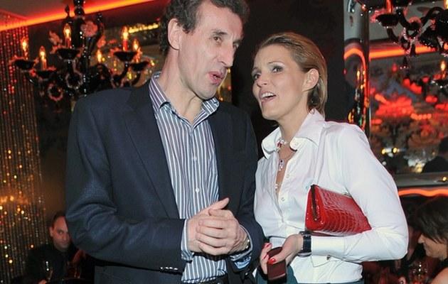 Ilona z byłym mężem /- /AKPA