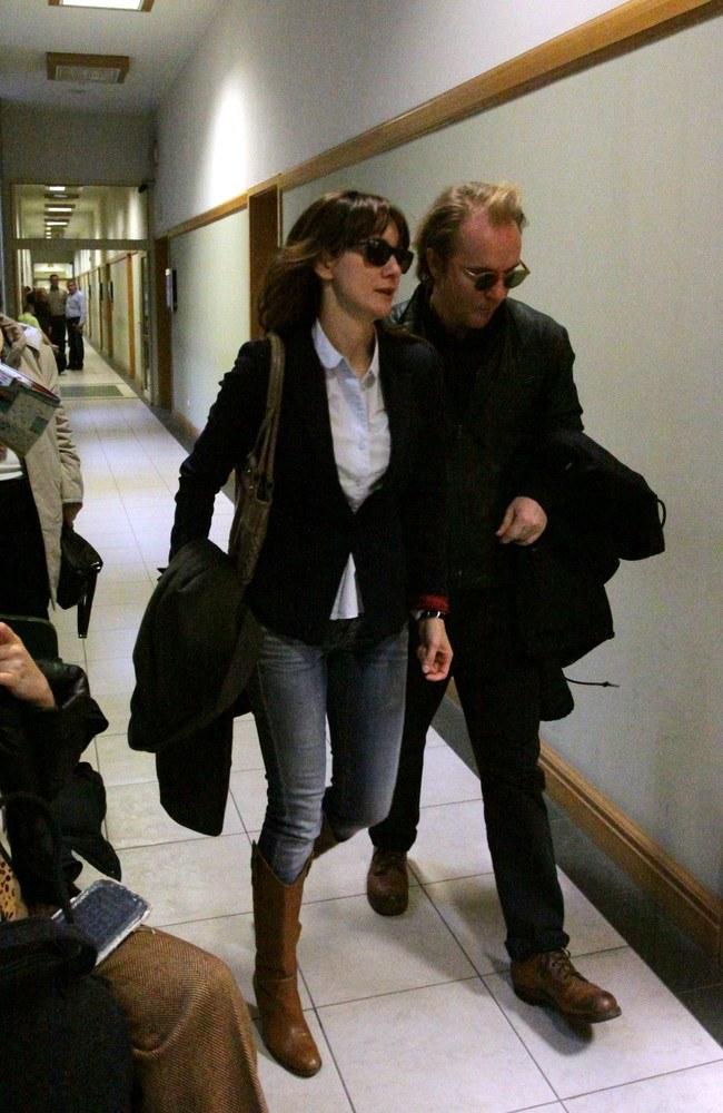 Ilona z Jackiem w trakcie rozprawy rozwodowej /- /East News