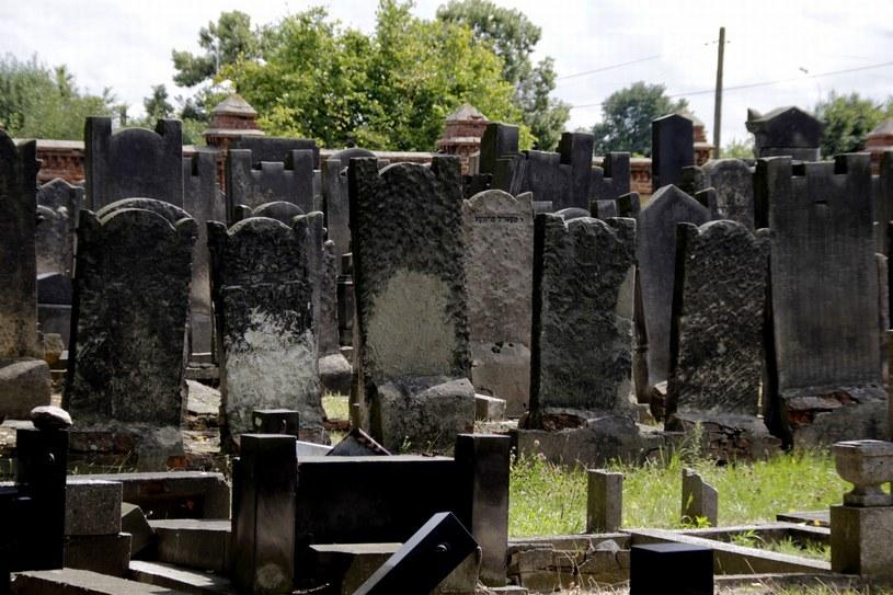 Ilustracja - maceby na żydowskim cmenatrzu (na zdjęciu nekropolia w Łodzi) /Leszek Rusek/REPORTER /Reporter