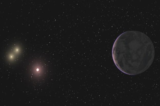 """Ilustracja obrazująca """"Super-Ziemię"""". Czy tak może wyglądać nowa Błękitna Planeta? Ilustracja: UCSC /materiały prasowe"""
