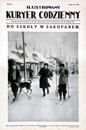 """""""Ilustrowany Kuryer Codzienny"""" /Reprodukcja: FoKa /Agencja FORUM"""