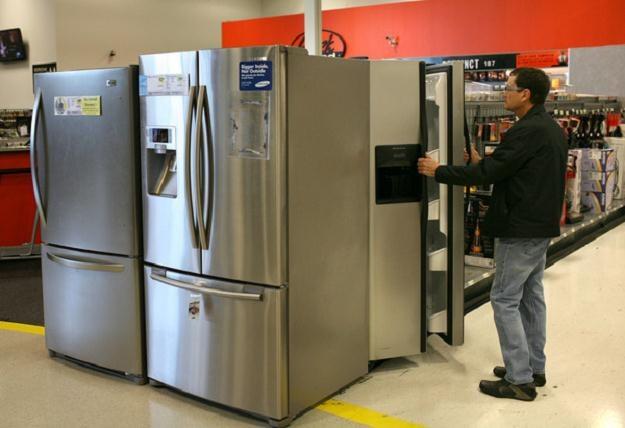 Im wyższa klasa energetyczna, tym koszt zakupu lodówki większy /AFP