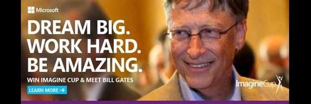 Imagine Cup 2014 - Bill Gates spotka się z jedną z tegorocznych drużyn /materiały prasowe
