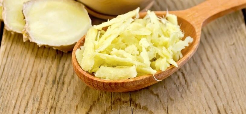 Imbir może stanowić bazę masła /123RF/PICSEL