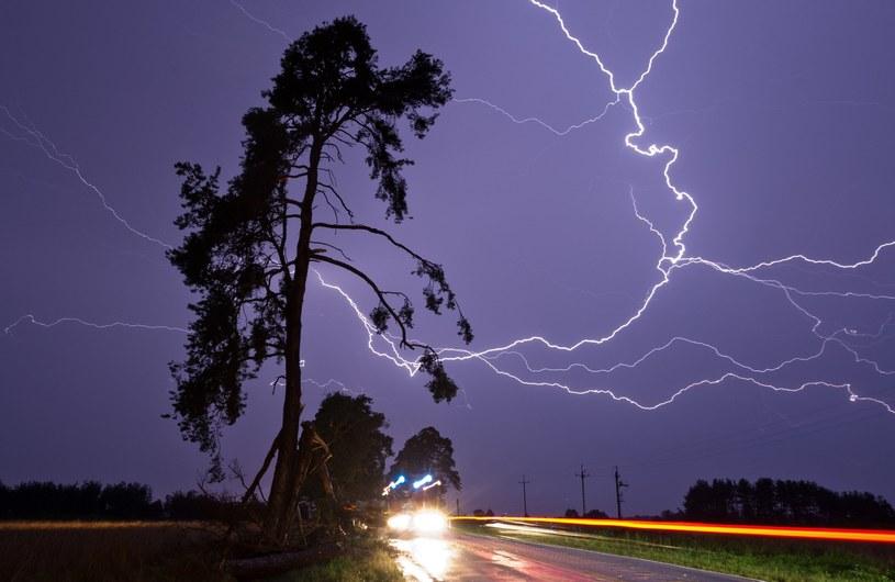 IMGW ostrzega przed gwałtownymi burzami i porywistym wiatrem /Marek Maliszewski  /Reporter
