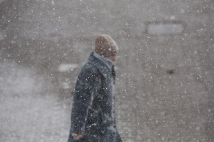 IMGW ostrzega przed silnymi opadami śniegu /Fot. Marek Maliszewski /Reporter