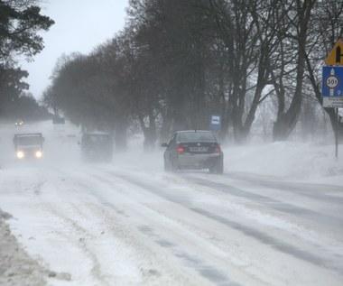 IMGW ostrzega przed zamieciami śnieżnymi