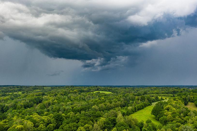 IMGW wydał alerty pierwszego, drugiego i trzeciego stopnia przed burzami /fot. Lukasz Szczepanski /Reporter