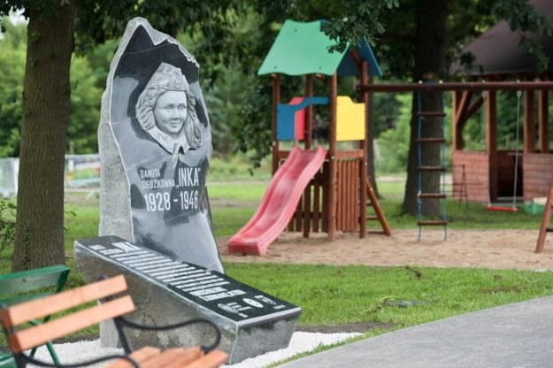 Imię słynnej łączniczki i sanitariuszki 5. Brygady Wileńskiej AK będzie od dzisiaj nosił także nowy miejski plac rekreacyjno-sportowy dla młodzieży /Lech Muszyński /PAP