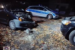 Imielin: Policyjny pościg za kierowcą seicento