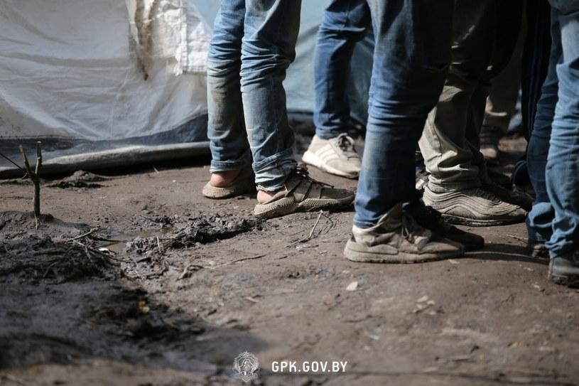 Imigranci na polskiej granica, zdjęcie ilustracyjne /Laski Diffusion /East News