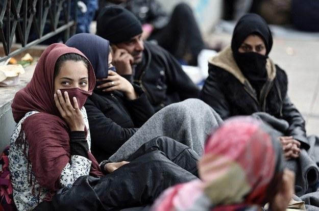 Imigranci w Europie /PAP/EPA