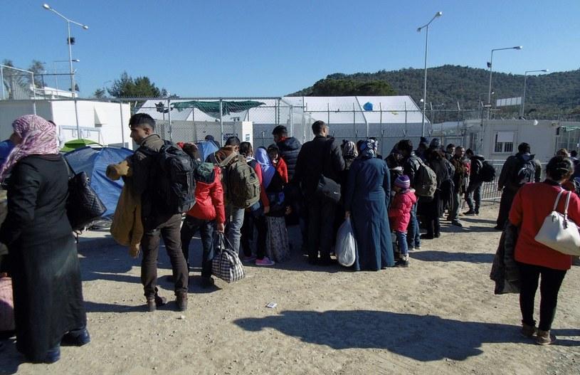 Imigranci, zdj. ilustracyjne /PANAGIOTIS BALASKAS /PAP/EPA