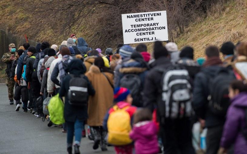 Imigranci/Zdj. ilustracyjne /CHRISTIAN BRUNA /PAP/EPA