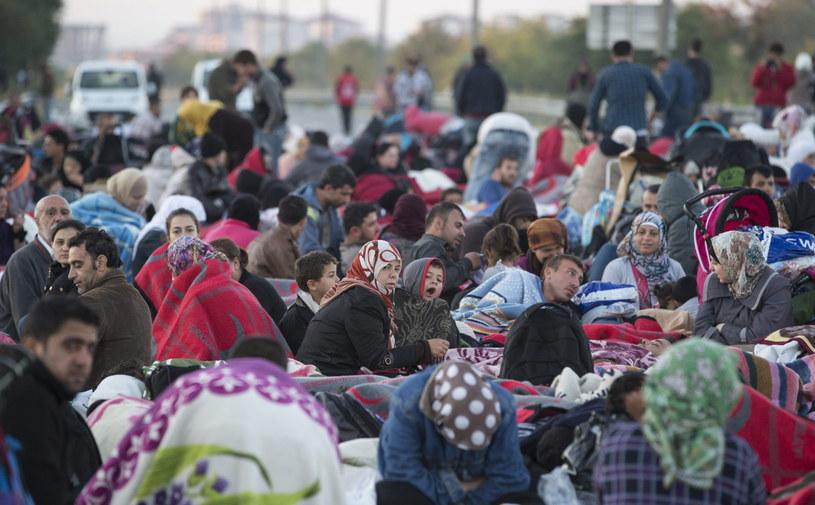 Imigranci /PAP/EPA