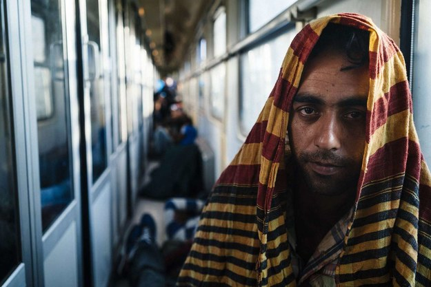 Imigrant z Pakistanu u bram Europy... /AFP