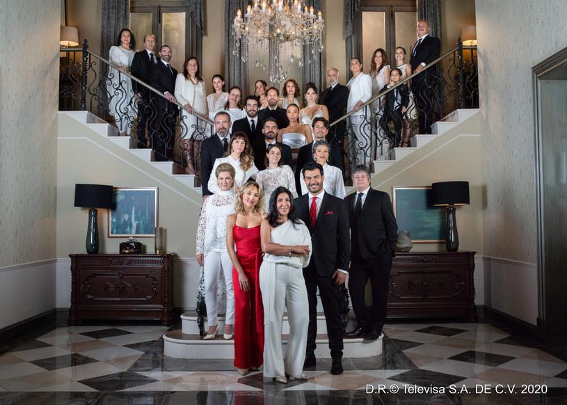 """Imperium kłamstw"" /D.R. @ Televisa, S.A. de C.V. 2020 /materiały prasowe"