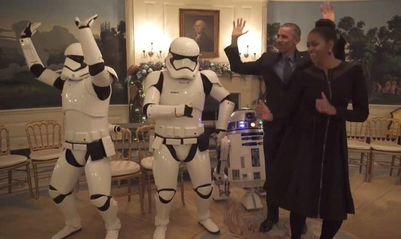 Impreza u Obamów! /YouTube