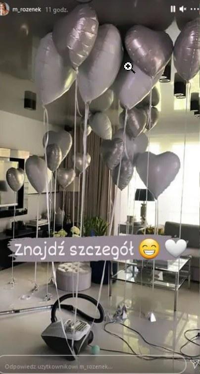 Impreza urodzinowa Radosława Majdana, fot. https://www.instagram.com/m_rozenek/?hl=pl /Instagram