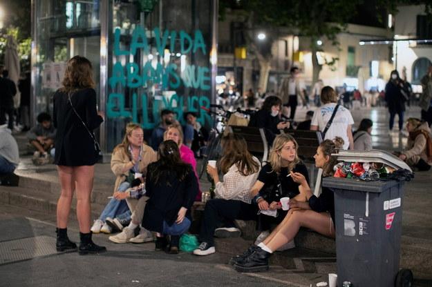 Imprezy w miastach Hiszpanii /MARTA PEREZ /PAP/EPA