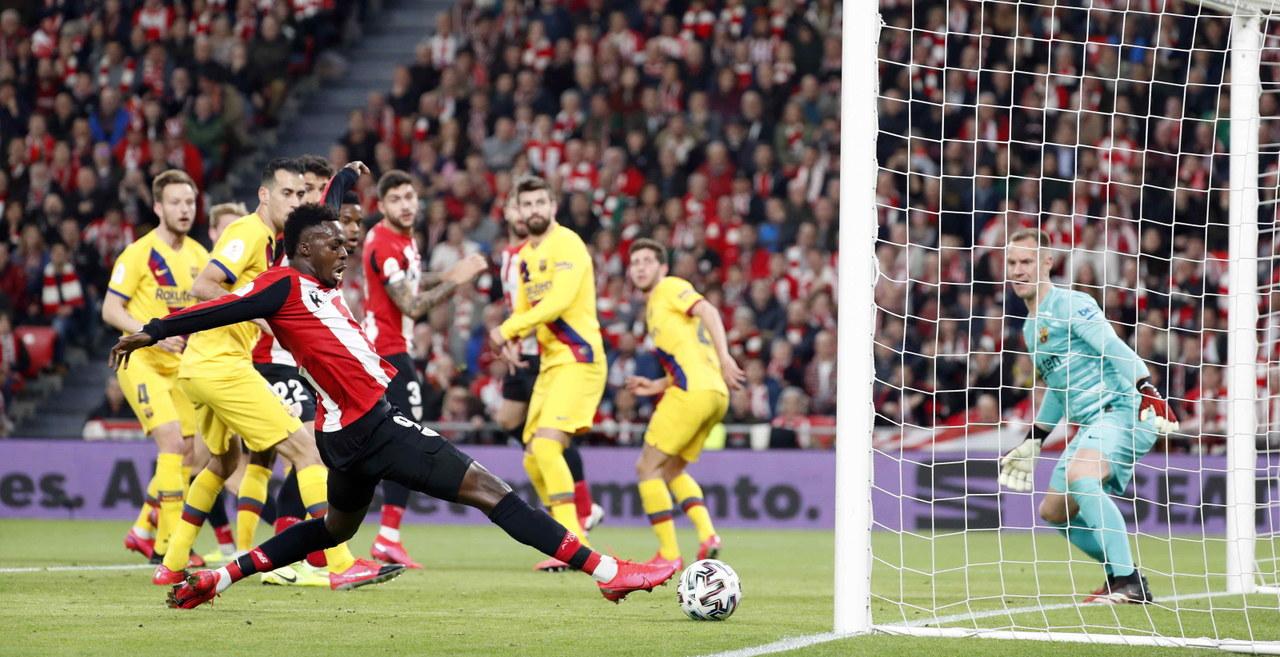 Puchar Hiszpanii Athletic Bilbao Fc Barcelona 1 0 Baskowie