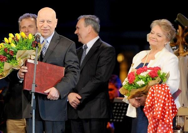 Uhonorowani Wielkimi Nagrodami Jerzy Stuhr i Anna Seniuk