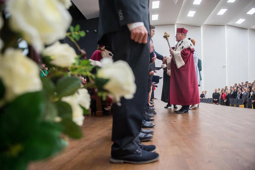Inauguracja roku akademickiego na UMK sprzed kilku lat; zdj. ilustracyjne /Łukasz Piecyk /East News