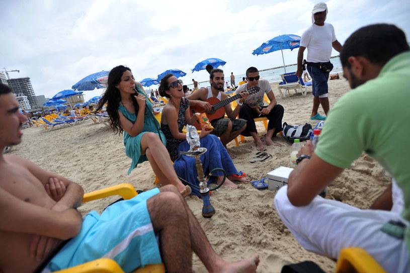 Inauguracja sezonu plażowego w Tel Awiwie /AFP