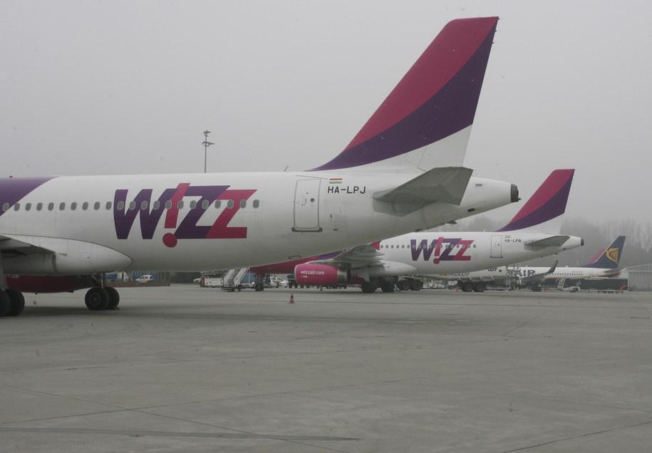 Incydent dotyczył samolotu linii Wizz Air. Zdj. ilustracyjne /Jacek Bednarczyk   /PAP