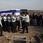 Incydent na pogrzebie Szarona. Wystrzelono rakiety