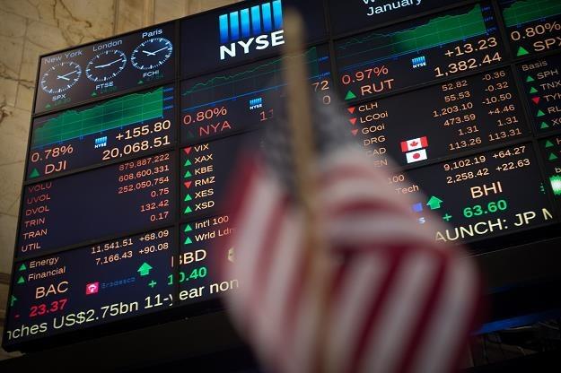 Indeks Dow Jones Industrial na zamknięciu wzrósł o 0,16 proc. do 20 100,35 pkt /fot. Bryan R. Smith /AFP