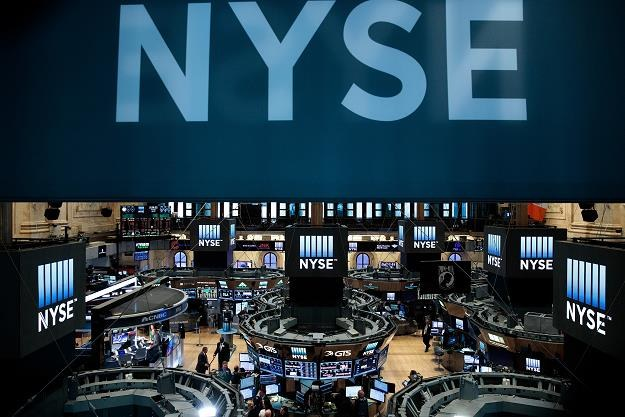 Indeksy na nowojorskich giełdach kolejny dzień notowały solidne wzrosty /AFP