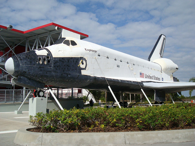 """""""Independence"""" jeszcze jako """"Explorer"""". Obecnie jest przebudowywany /NASA /INTERIA.PL/materiały prasowe"""