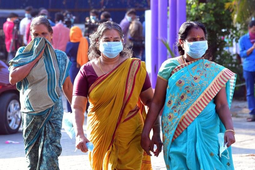 Indie boją sie wirisa /AFP