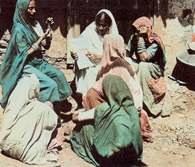 Indie, kobiety z wioski, Rajasthan /Encyklopedia Internautica