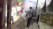 Indie: Ogromny pożar na targu z fajerwerkami