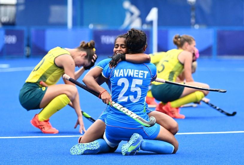 Indie pokonują Australię w hokeju na trawie. Tokio 2020 /CHARLY TRIBALLEAU / AFP /AFP